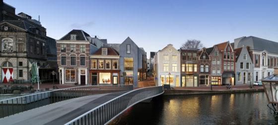 Catharinabrug Leiden door DP6 wint internationale betonprijs