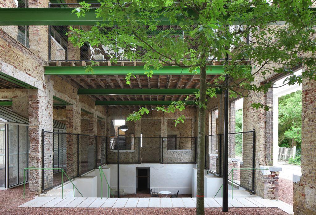 PC CARITAS in Melle (B) door architecten de vylder vinck taillieu, beeld Filip Dujardin