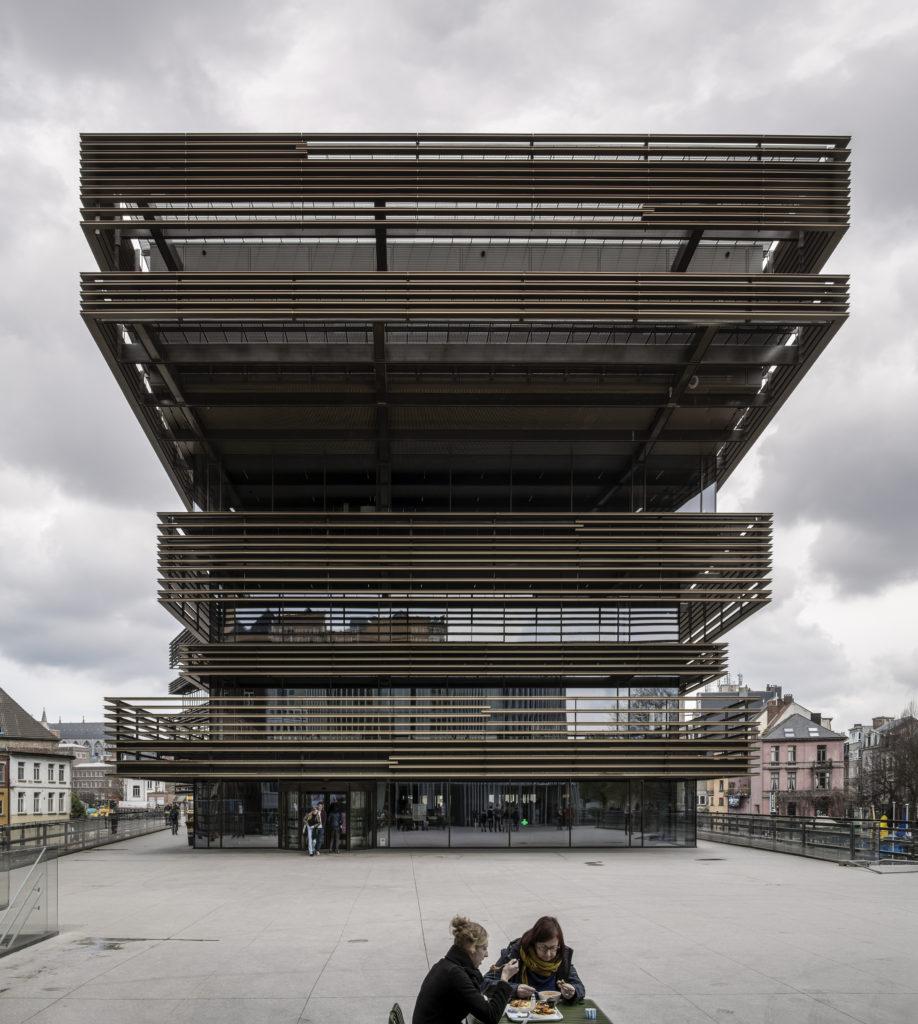 De Krook in Gent (B) doorRCR Arquitectes enCOUSSÉE & GORIS architecten, beeld Hisao Suzuki