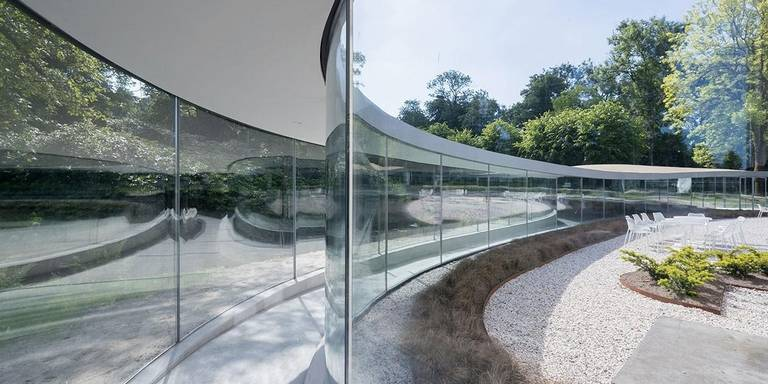 Bezoekerscentrum-Park-Vijversburg-in-Tytsjerk-door-Stuido-Maks-en-Junya-Ishigami