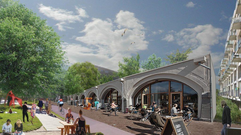 Uit het voorstel Meppelpark van Geoffrey Eberle, Greetje van den Nouweland, Gerben Helleman en Jasper Spigt