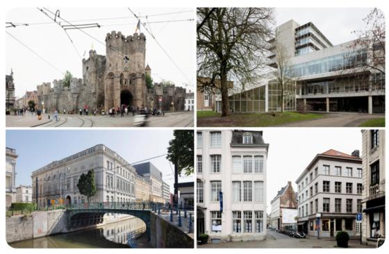 20 ontwerpteams in de race voor  vier grote architectuuropdrachten in Gent