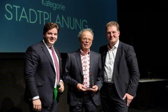 Kees Christiaanse ontvangt ULI Germany Leadership Award 2018