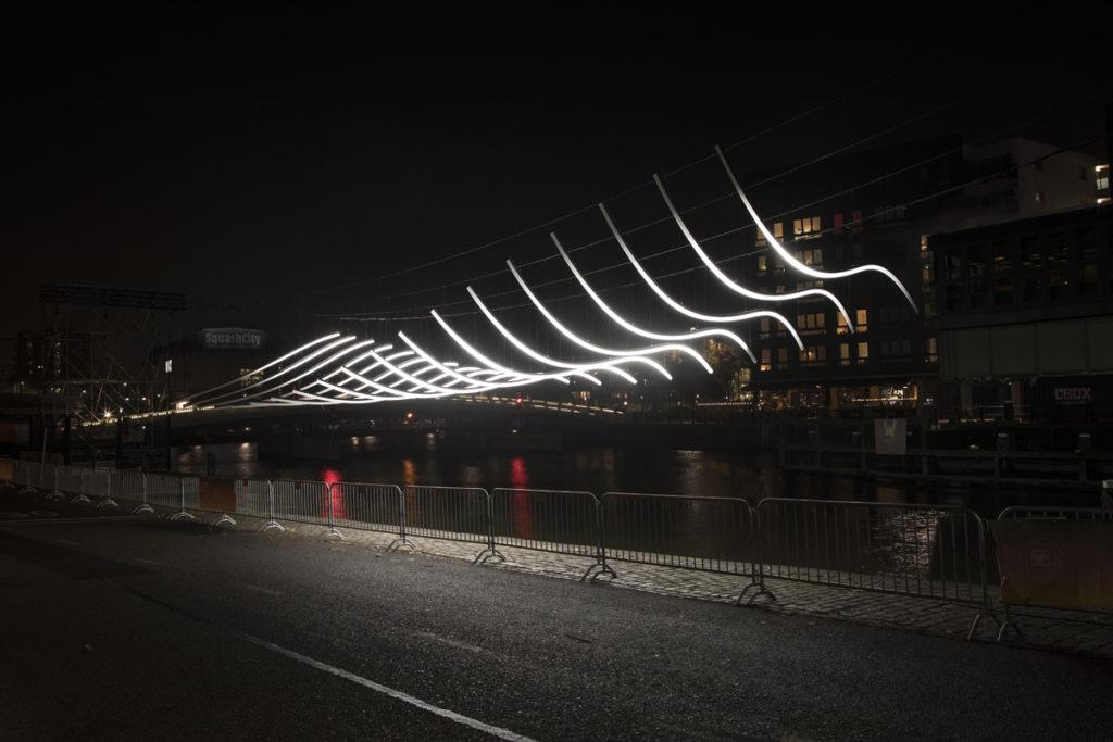 Serge Schoemaker Transmission voor Amsterdam Light Festival 2018. Beeld: Janus van den Eijnden