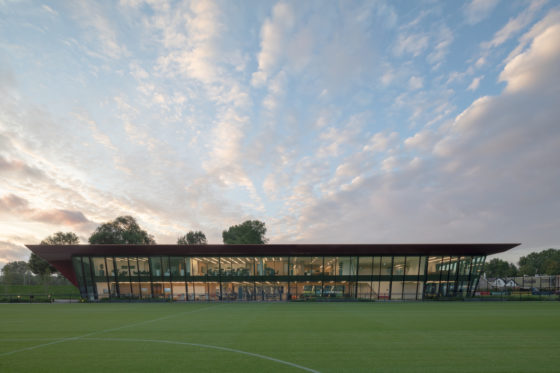 Trainingscomplex '1908' Feyenoord Rotterdam – MoederscheimMoonen Architects