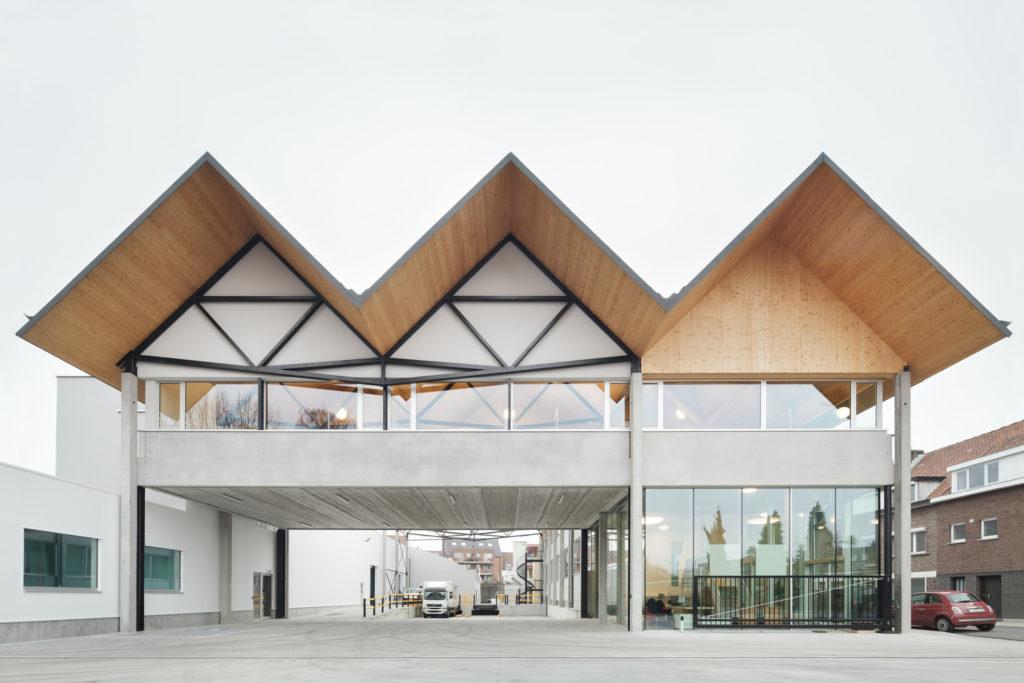 Ryhove in Gent (B) doorTRANSarchitectuurstedenbouw, beeld Stijn Bollaert
