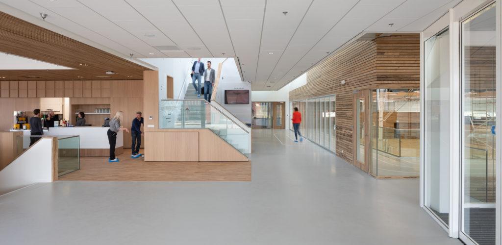 Sportcentrum Europapark, Groningen - VenhoevenCS. Beeld Ossip van Duivenbode