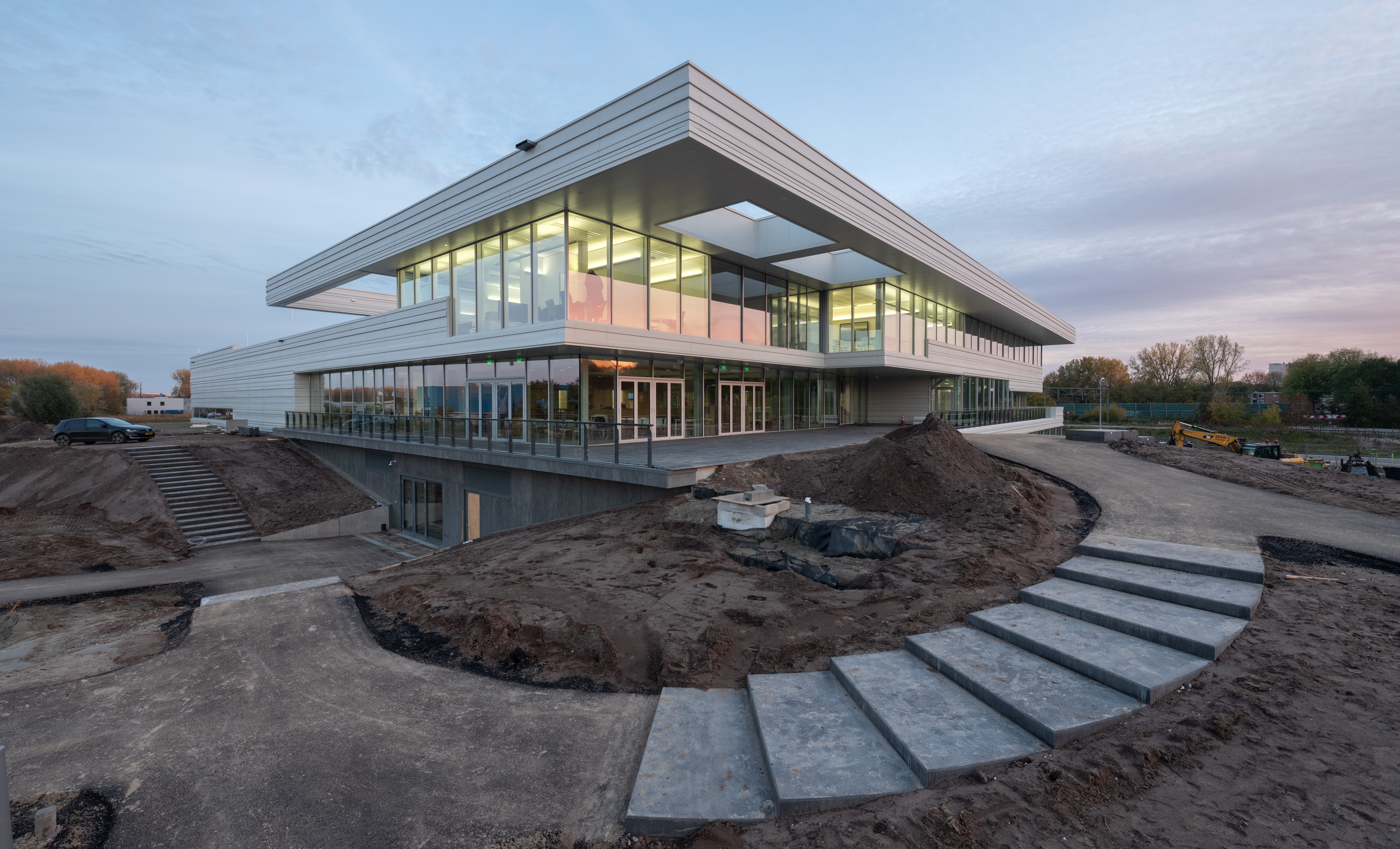 <p>Sportcentrum Europapark, Groningen &#8211; VenhoevenCS. Beeld Ossip van Duivenbode</p>