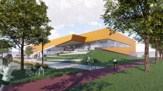 Nieuw sportcomplex voor Zwolle