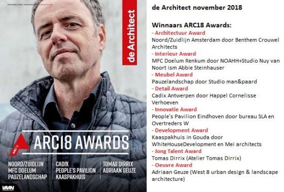 Verschenen: de Architect november 2018
