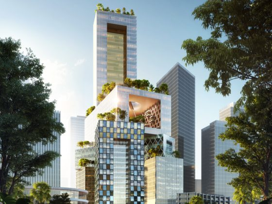 MVRDV wint competitie voor hoogbouw in Shenzhen (China)