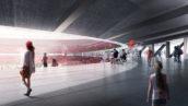Ontwerp OMA/David Gianotten voor nieuw stadion Feyenoord aan de Maas goedgekeurd