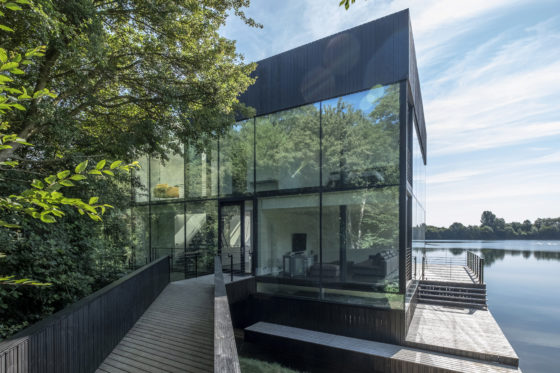 Villa in the Lake, Lechlade (VK) – Mecanoo Architecten