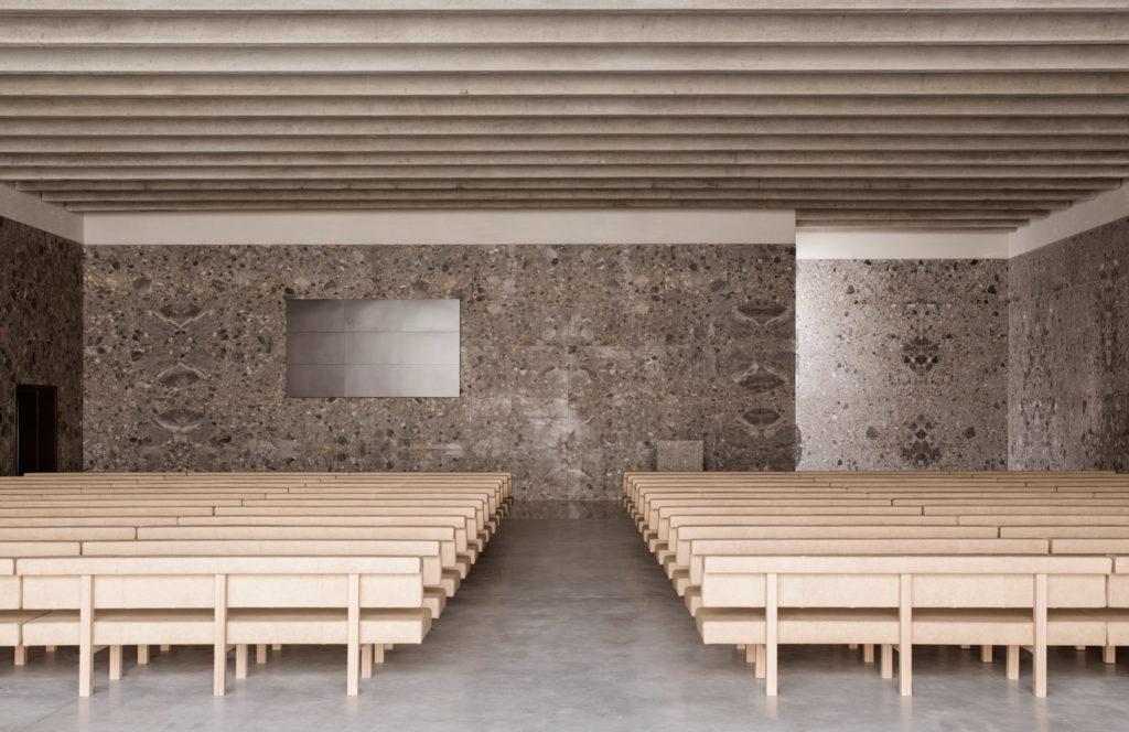Crematorium Siesegem in Aalst door KAAN Architecten, beeld Simone Bossi