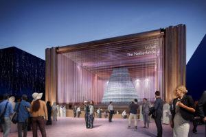 Ontwerp bekend Nederlands paviljoen Dubai EXPO 2020