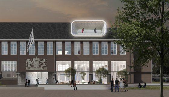 Plannen nieuw Museum van Bommel van Dam Venlo door BiermanHenket gepresenteerd