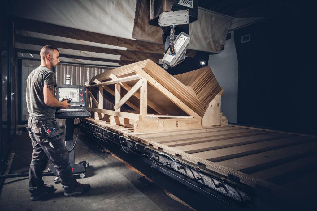 Robotica bij MVSA Architects, beeld Christian Keijsers Fotografie