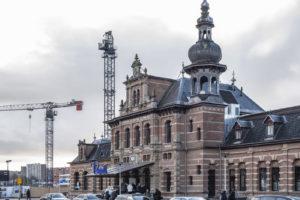 Stationshal oude Station Delft getransformeerd tot horeca-hotspot