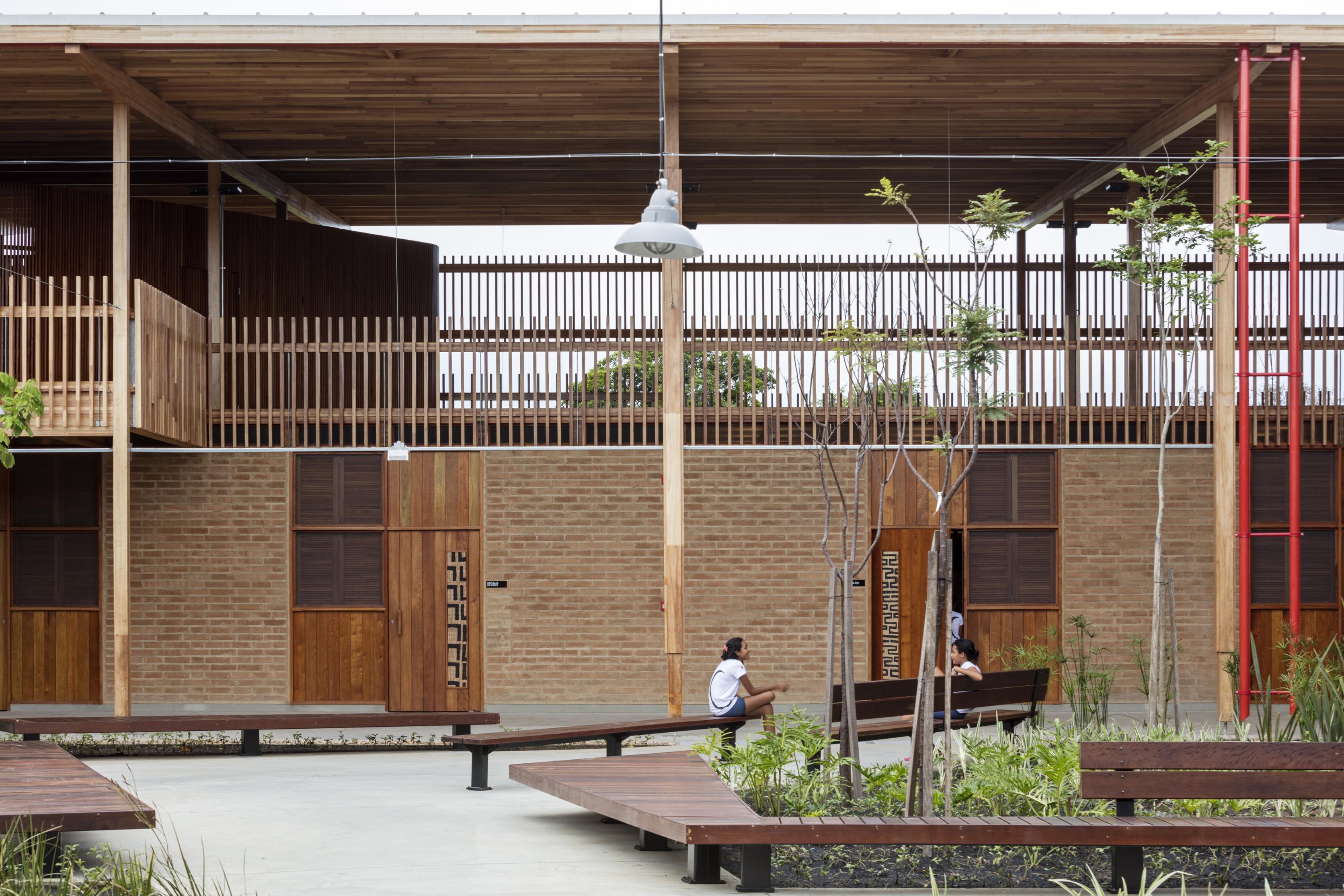 <p>Children Village,  Formoso do Araguaia &#8211; Rosenbaum &#038; Aleph Zero. beeld Fazenda Canuanã</p>