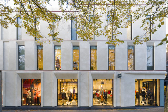 Geveltransformatie winkelpand Breda door EGM architecten