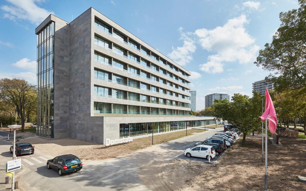Zorghotel Domstate, Utrecht - DiederenDirrix en Van Eijk & Van der Lubbe. beeld Jeroen van der Wielen