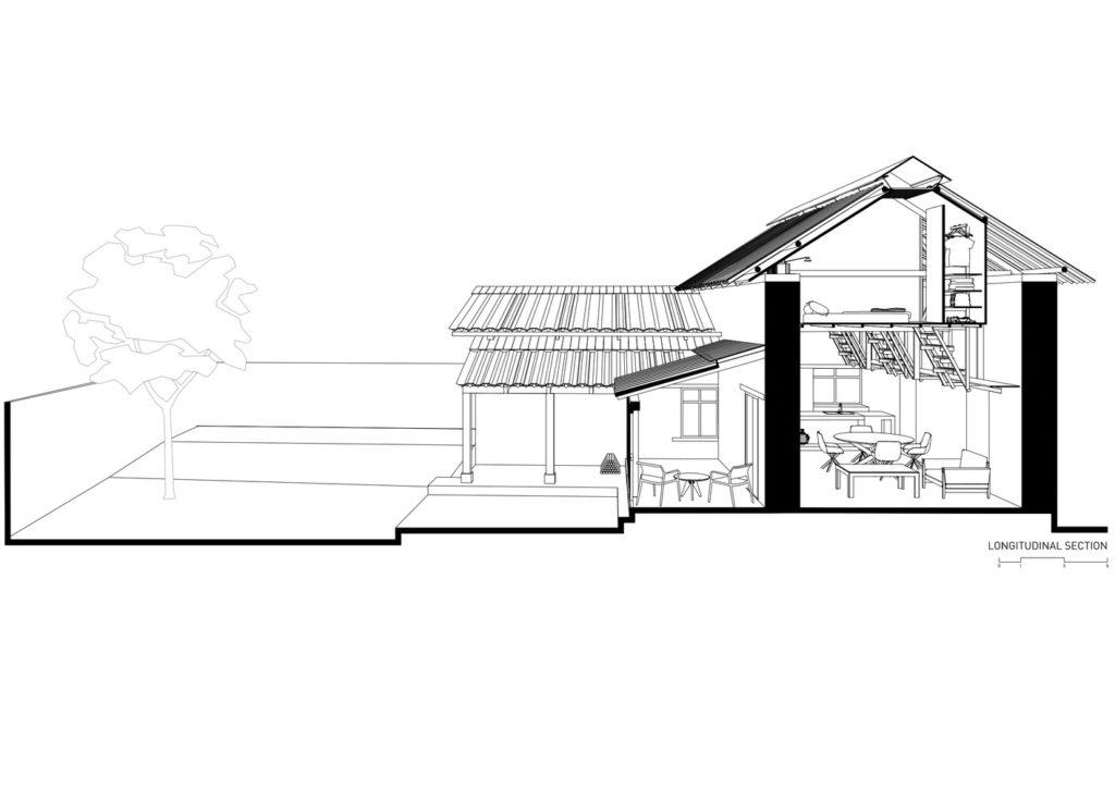 Casa de las Camas en el Aire in Ecuador door Al Borde