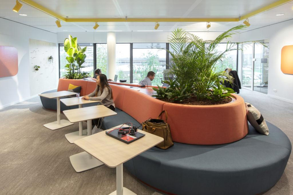 Hoofdkantoor Microsoft Nederland in Amsterdam door D/DOCK, beeld Michael van Oosten