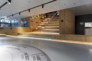 Werkomgeving als persoonlijke assistent – Hoofdkantoor Microsoft Nederland in Amsterdam door D/DOCK