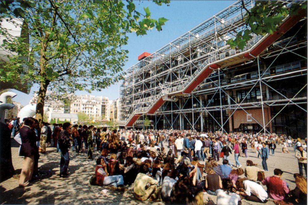 Parijs Pompidou Richard Rogers AIA Gold Medal 2019