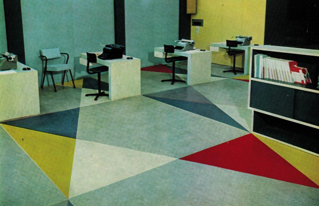 Perskamer Unesco - Gerrit Rietveld - 1958