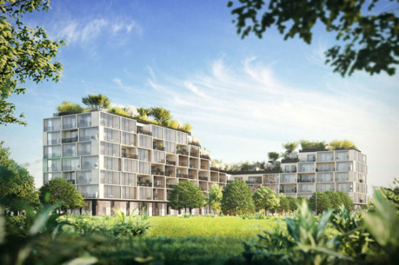 Antwerpen krijgt verticaal bos van Stefano Boeri