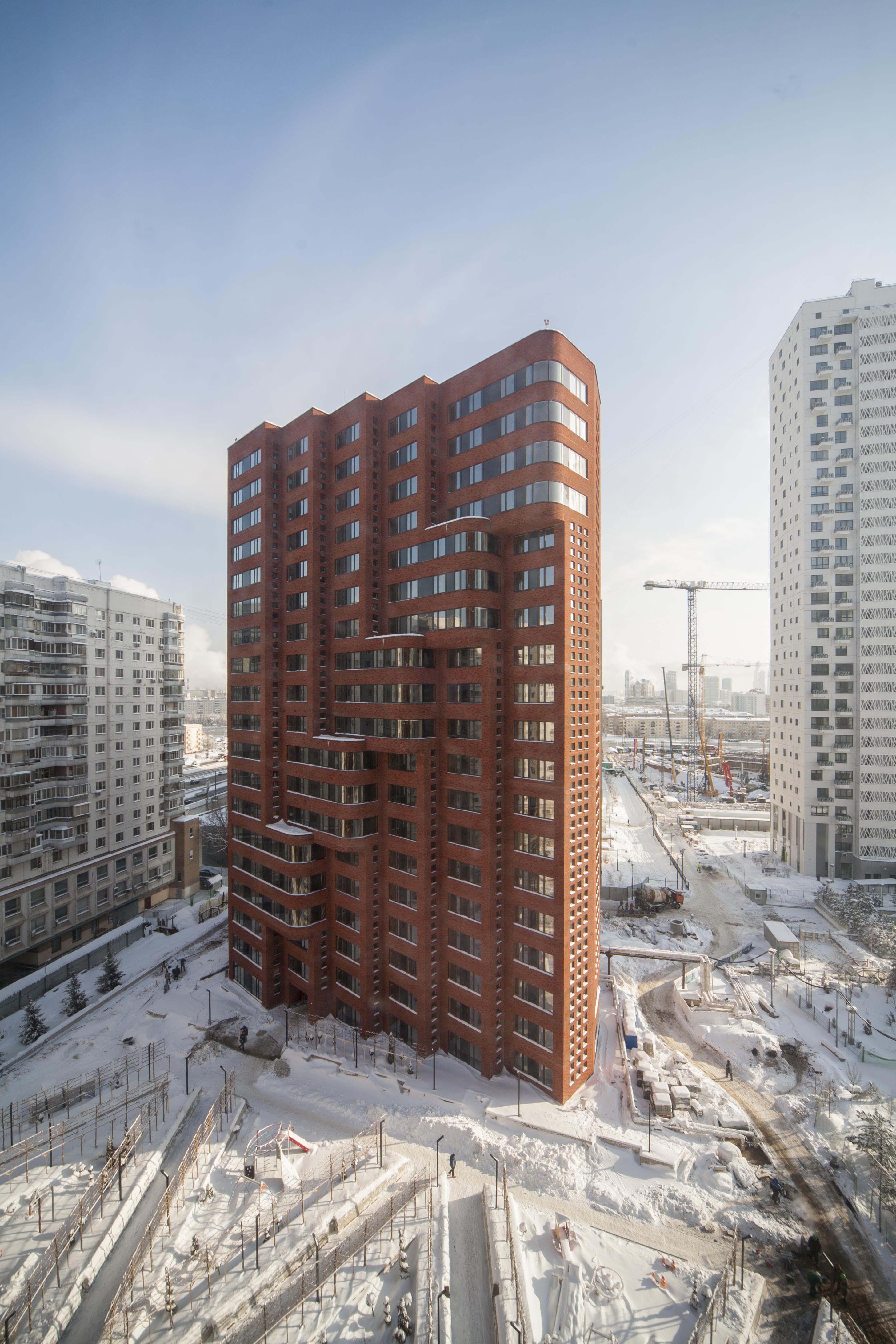 <p>Appartementencomplex in Moskou – Team Paul de Vroom + Sputnik, beeld Ilya Ivanov</p>