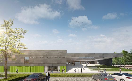 Nieuw zwembad en sportcomplex voor capelle aan den ijssel de
