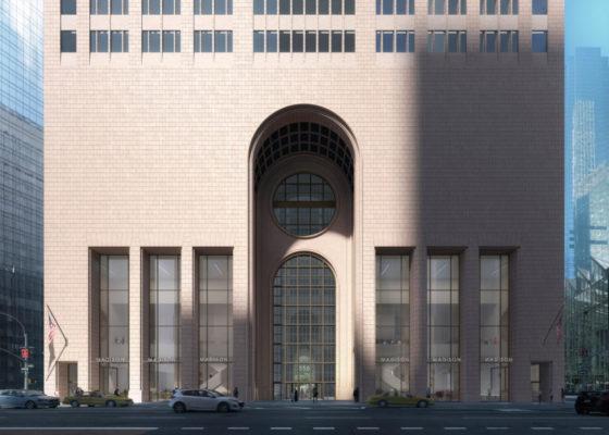 Snøhetta's past renovatie ontwerp AT&T gebouw New York aan
