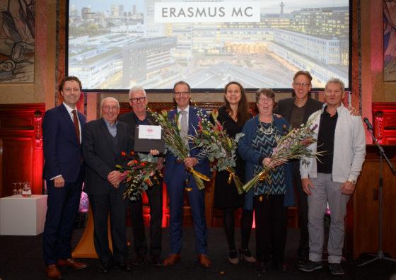 Erasmus MC door EGM wint Rotterdam Architectuurprijs 2018