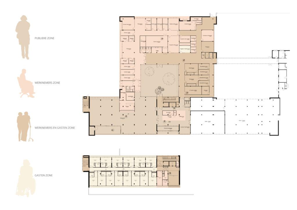 Zorghotel Domstate, Utrecht - Van Eijk & Lubbe