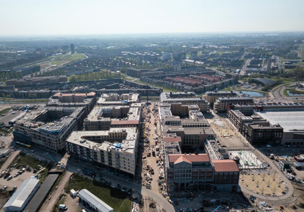 SELECT Levendig stadscentrum: Stedenbouwkundig ontwerp voor Leidsche Rijn Centrum door Jo Coenen Architects & Urbanists