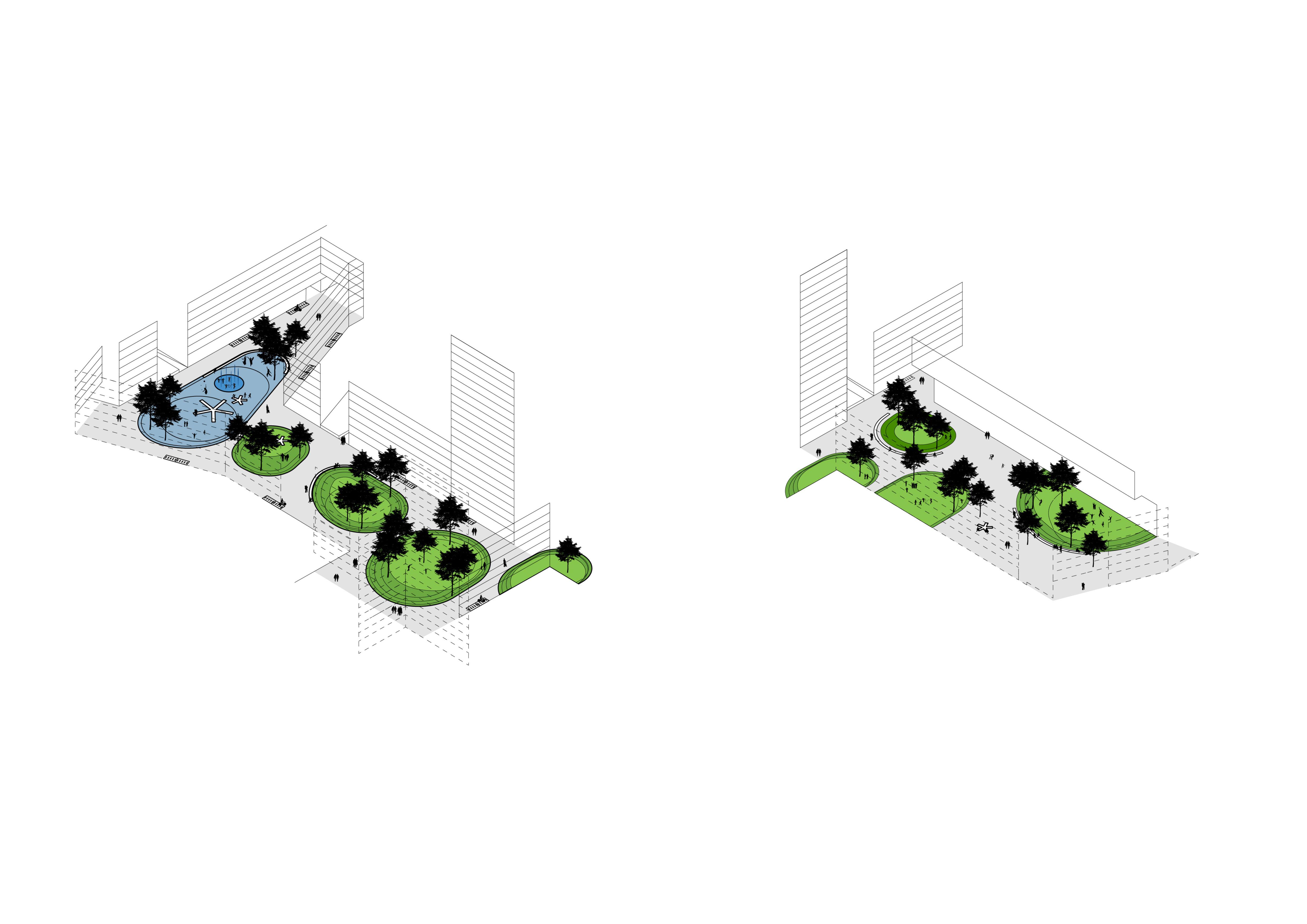 <p>Woonwijk Berlijn-Lichtenberg door MLA+ en Atelier Loidl Landschaftsarchitekten</p>
