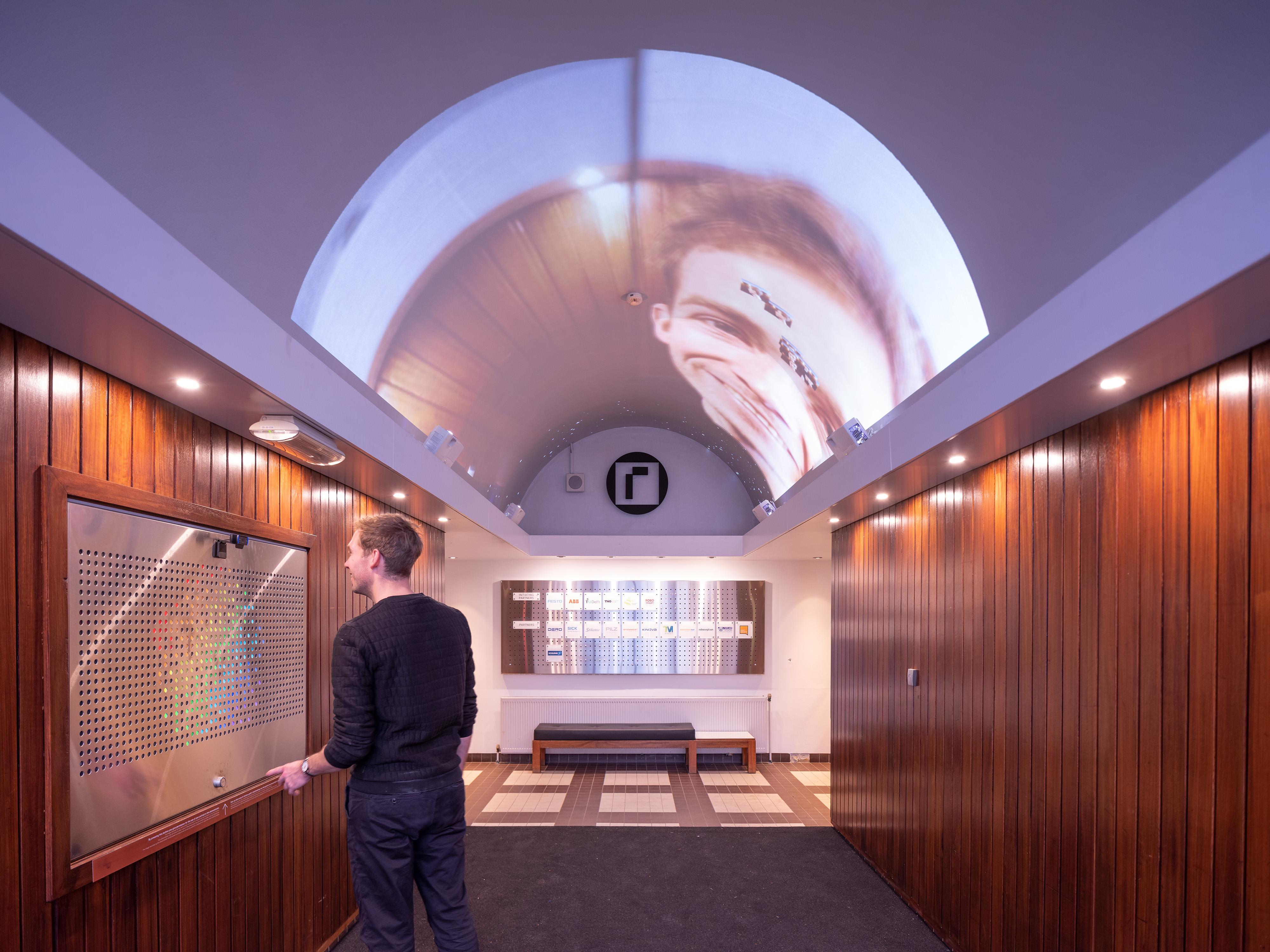 <p>RoboHouse Delft door ArchitectuurMAKEN, beeld Ossip van Duivenbode</p>