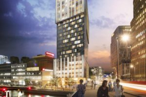 Start bouw woontoren OurDomain Rotterdam Blaak