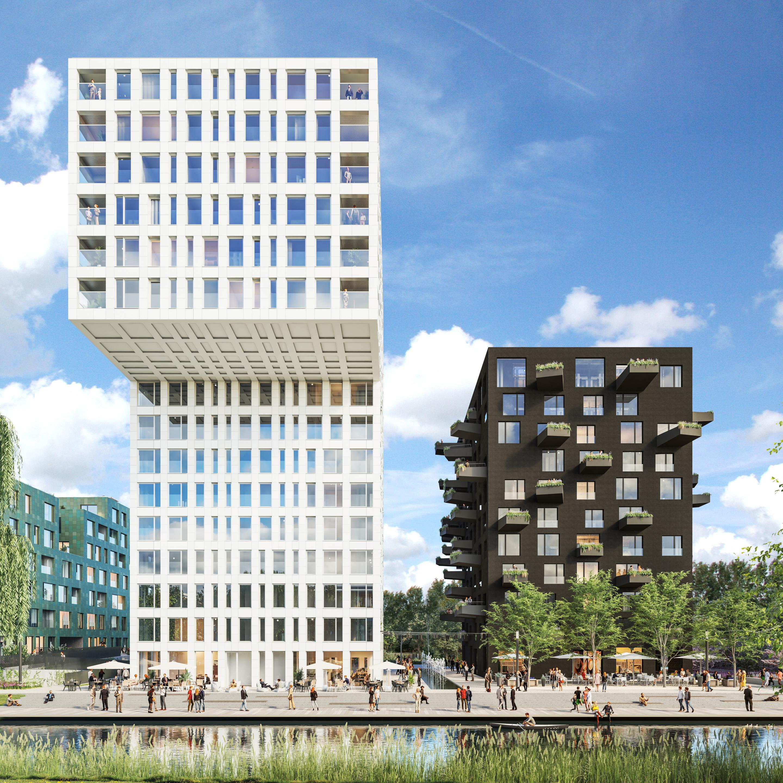 <p>Masterplan Westerpark West in Amsterdam door MVRDV, beeld CIIID</p>
