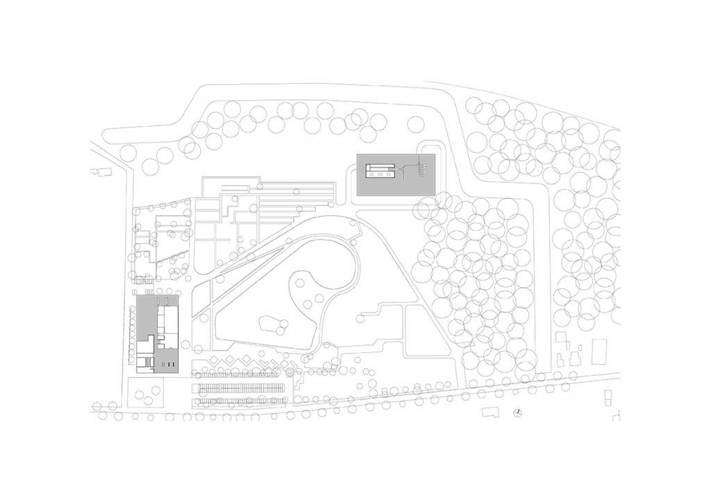 Crematorium Heimolen in Sint-Niklaas door KAAN Architecten
