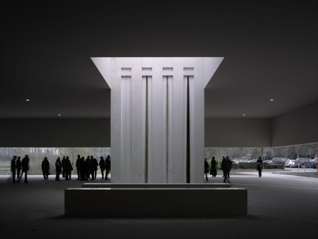Crematorium Heimolen in Sint-Niklaas door KAAN Architecten, beeld Christian Richters