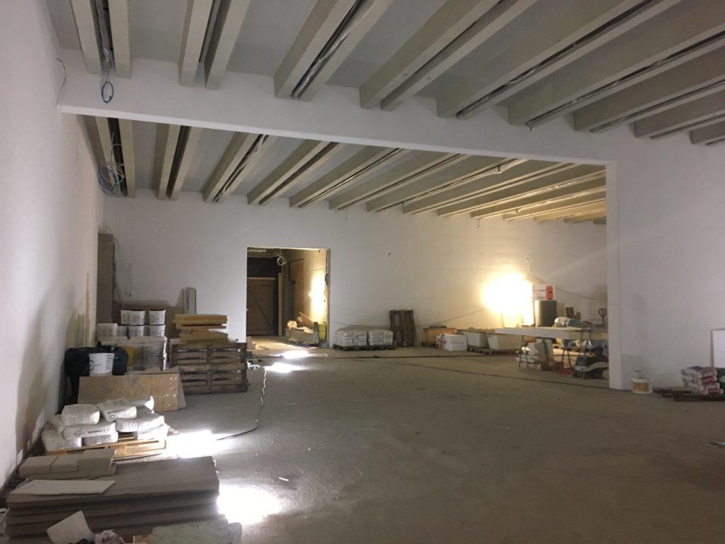 Bauhaus-Museum Weimar in aanbouw, beeld Marieke Giele