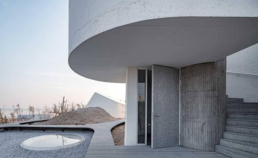 UCCA Dune Art Museum door OPEN Architecture, beeld Wu Qingshan