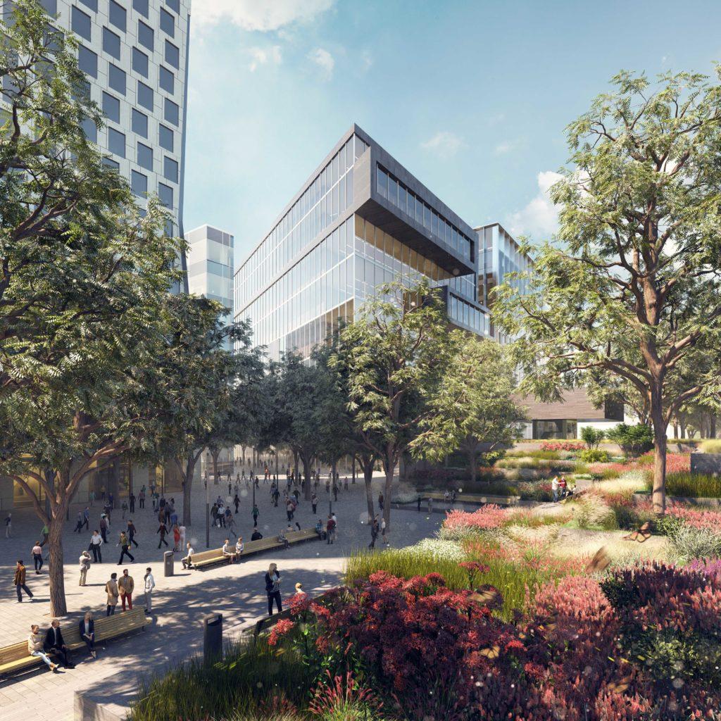 Zuidasdok, ontworpen door ZuidPlus Architects – een samenwerking tussen Team V Architectuur, ZJA Zwarts & Jansma Architecten, Bosch Slabbers. Opdrachtgever: ZuidPlus - een consortium gevormd door Fluor, HOCHTIEF en Heijmans