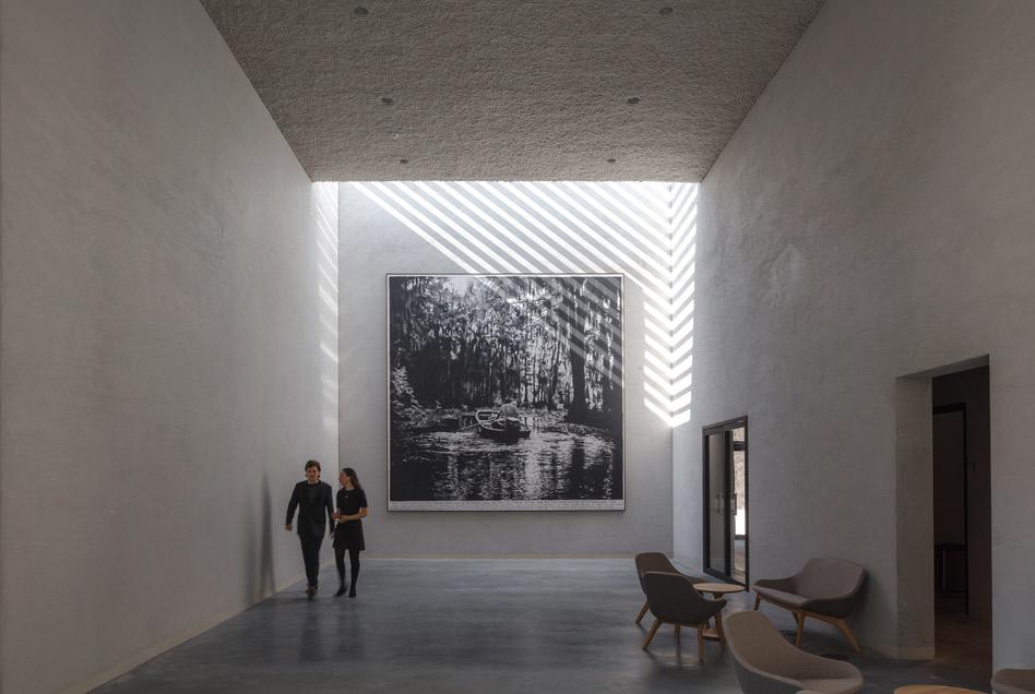 Crematorium Siesegem in Aalst door KAAN Architecten, beeld Sebastian van Damme