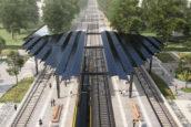 Delft Zuid wordt eerste energieneutrale station van Nederland