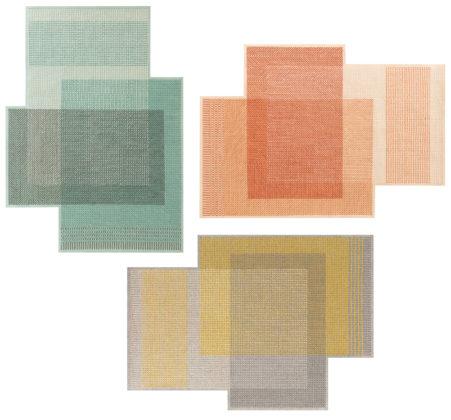 Ruimtelijk textiel door Lancelot en Neri&Hu op IMM Keulen