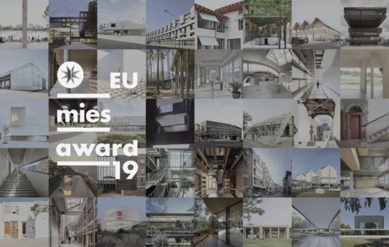 Shortlist EU Mies Award 2019 bekend: 2 Nederlandse en 4 Belgische projecten